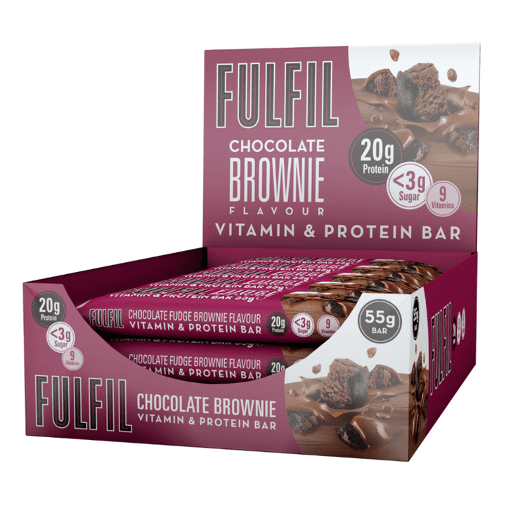 FULFIL CHOCOLATE BROWNIE BOX OF 15 BARS