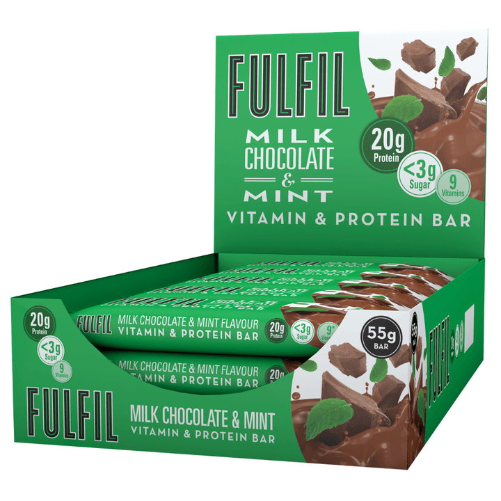 FULFIL MILK CHOCOLATE & MINT BOX OF 15 BARS
