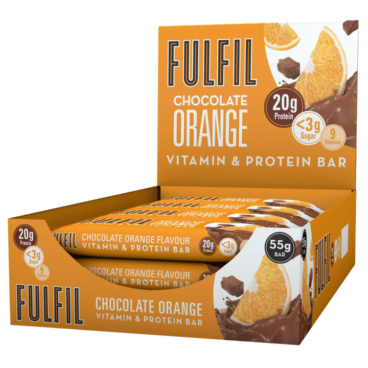 FULFIL CHOCOLATE ORANGE BOX OF 15 BARS
