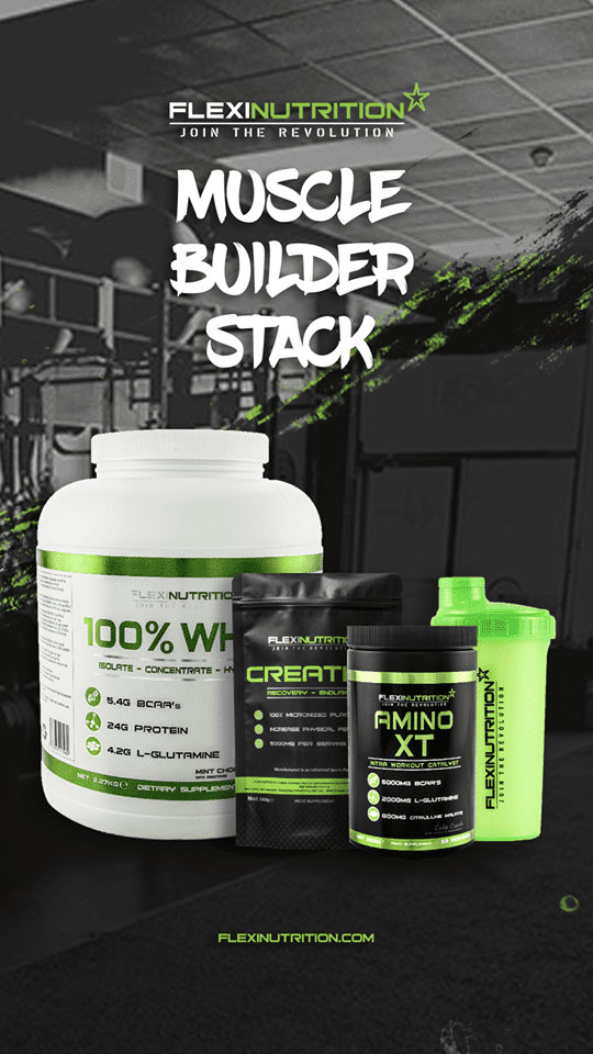 Flexi Nutrition Muscle Builder Stack