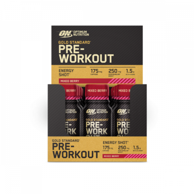 Gold Standard Pre-Workout Shots - 12x 60ml