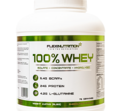 Flexi Nutrition 100% WHEY PROTEIN - 30 Servings.