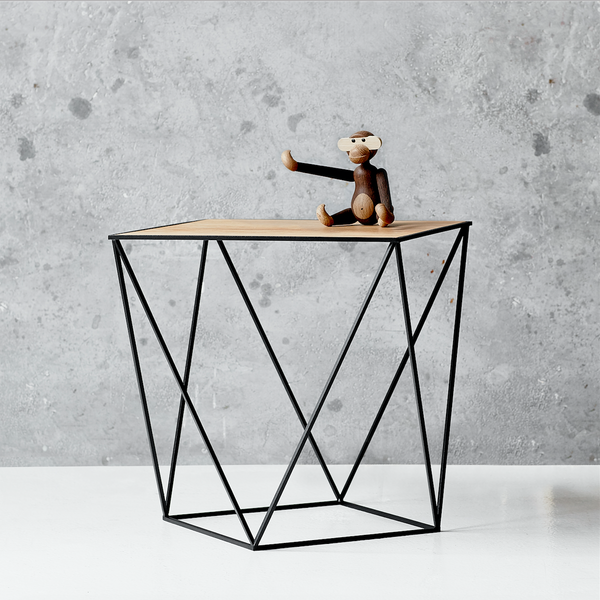 Trigona table Black/Wood
