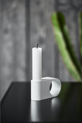 Munus candle - white