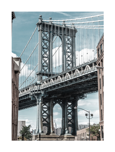 Poster - Manhattan bridge