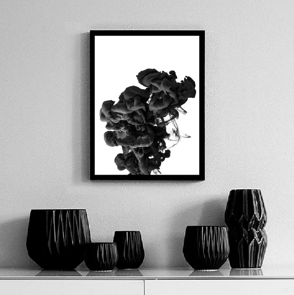 Ink cloud Poster - Høst design