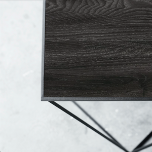 NEW - Trigona table Grey/Black