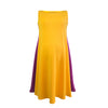 Yellow & Purple Tent Dress
