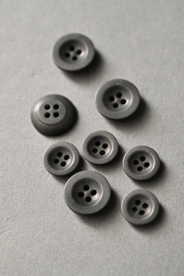 Grey Corozo Buttons