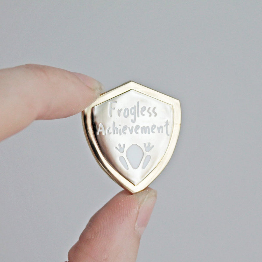 Frogless Achievement Pin
