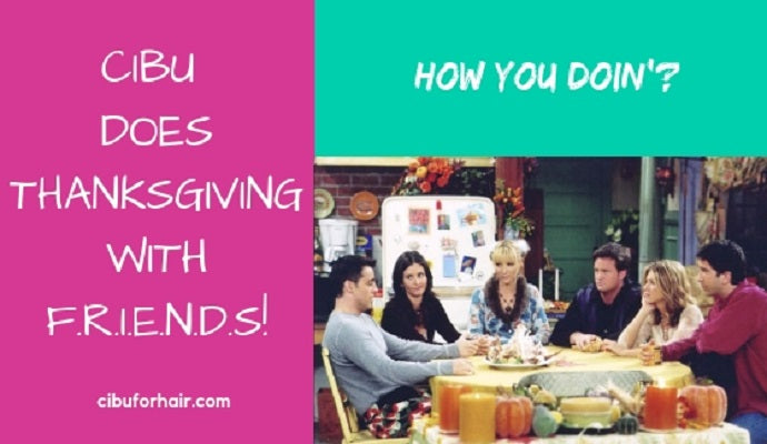 CIBU Does Thanksgiving with F.R.I.E.N.D.S!