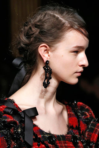 Fall/Winter 2018 Hair Trend: Braids at Rochas