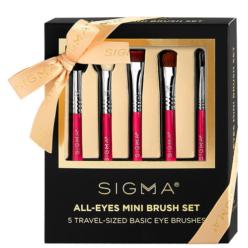 Sigma Beauty All-Eyes Mini Brush Set
