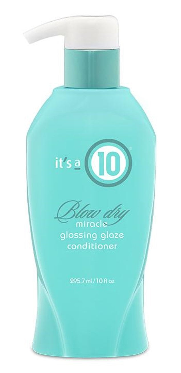 It's a 10 Blow Dry Glossing Glaze Conditioner 10oz