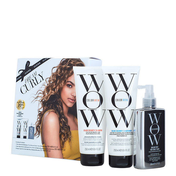 Color Wow Dream Curly Holiday Set