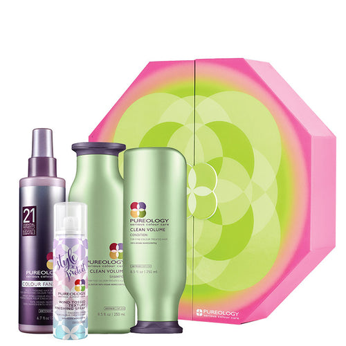 Pureology Clean Volume Set Holiday 2018