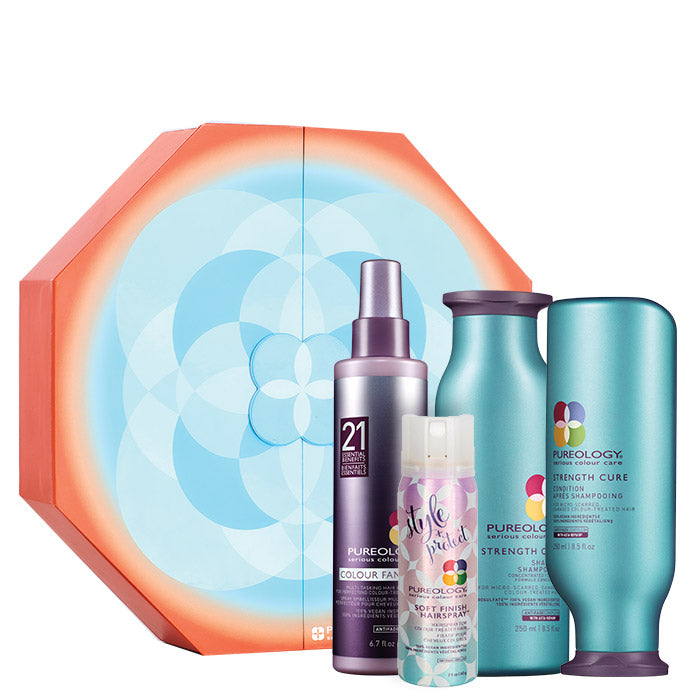 Pureology Strength Cure Set Holiday 2018