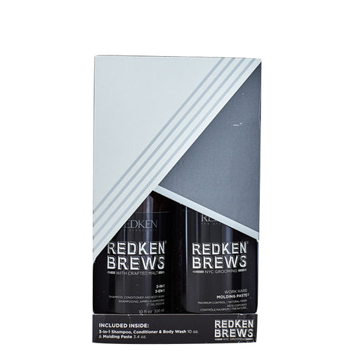 Redken Brews 3 in 1 & Molding Paste Kit