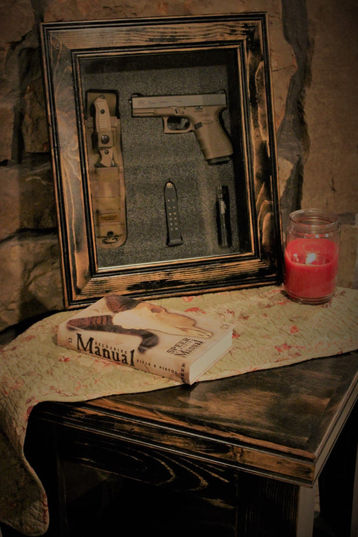 Picture Frame Gun Cases Safes Holders Concealed Storage