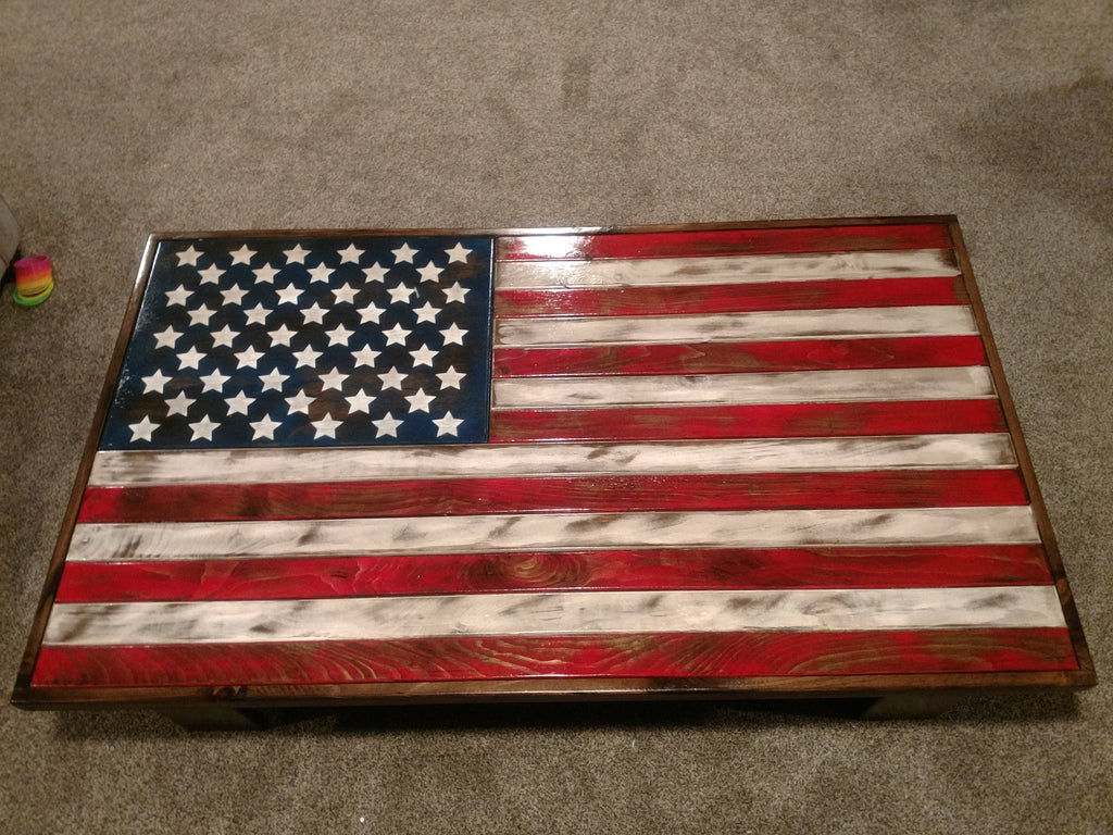 Concealment Coffee Table With Gun Storage