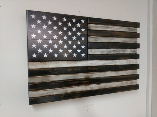 Liberty Home Concealment Black And White Small American Flag