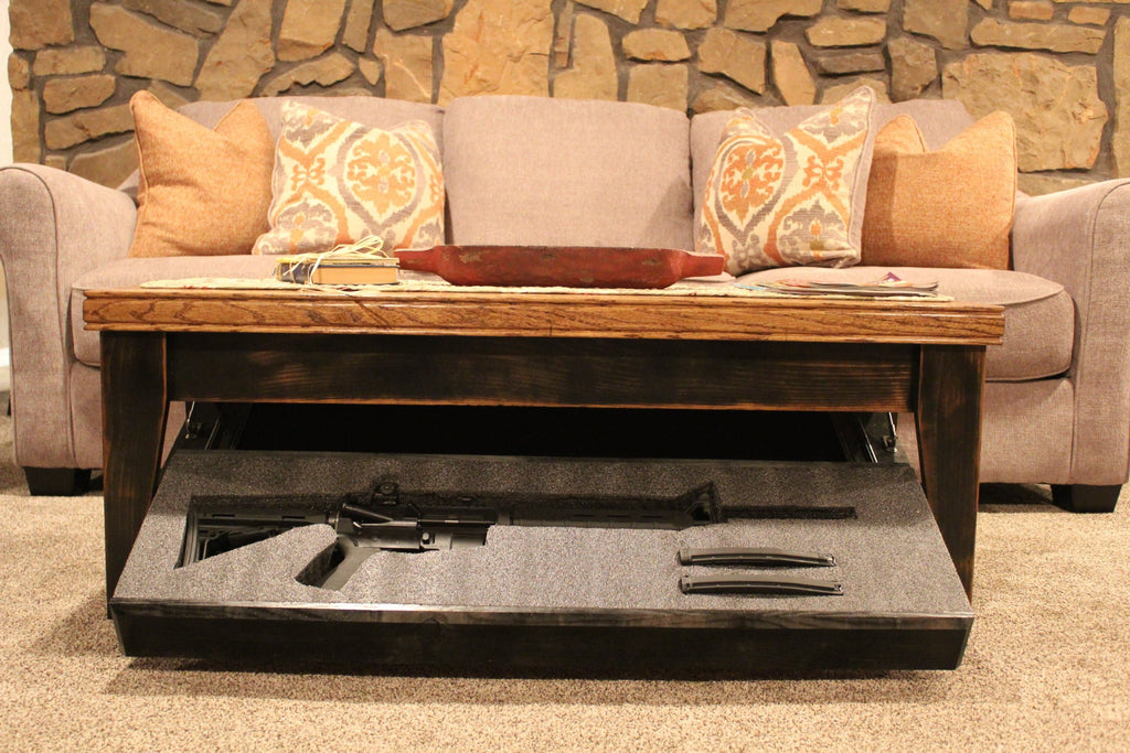 Coffee Table with Hidden Storage | Concealment Table – Liberty Home ...