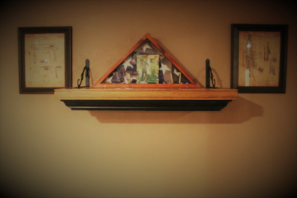 Small Patriot Wall Mantle Liberty Home Concealment