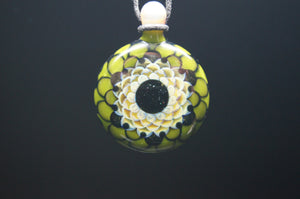 Juju Sunflower Dot Stack Glass Pendant