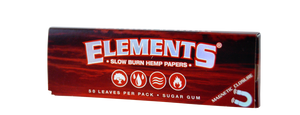 ELEMENTS® RED 1 ¼ Ultra Thin Rice Rolling Papers
