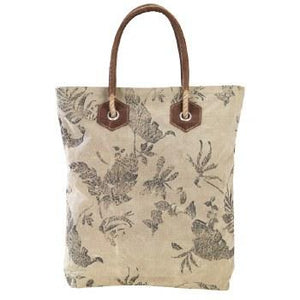 Floral Dragonfly Print Bag By Clea Ray