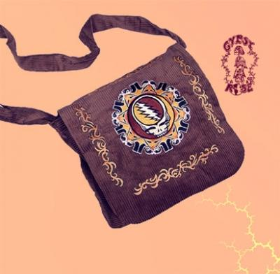 Grateful Dead Corduroy Tote Sack with SYF Embroidery