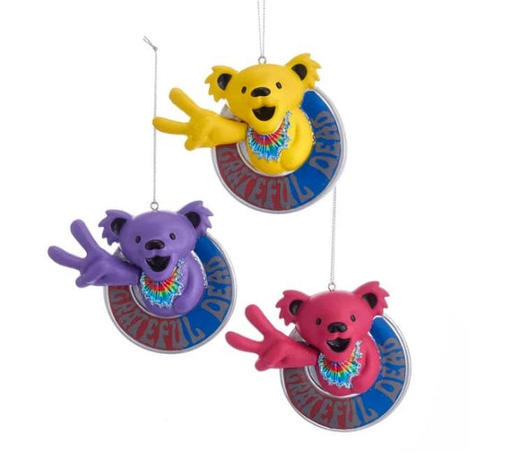 Grateful Dead™ Peace Bear Ornaments