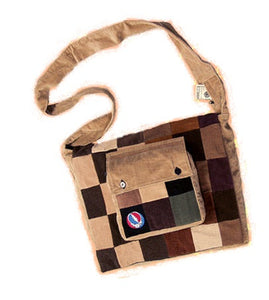 Grateful Dead SYF Recycled Printed Corduroy Journal Bag