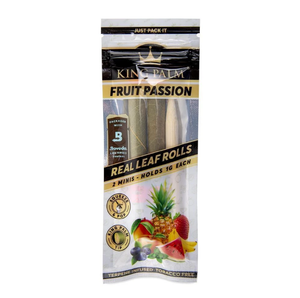 King Palm Slim Size Wraps 2 Pack - Fruit Passion