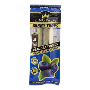 King Palm Slim Size Wraps 2 Pack - Berry Terps