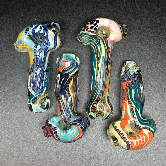 Nelson Glassworks Thick Gel Line Latty Pipe