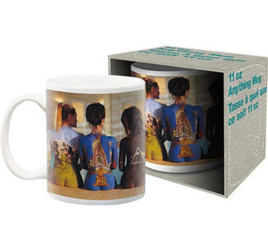 Pink Floyd Back Art Mug