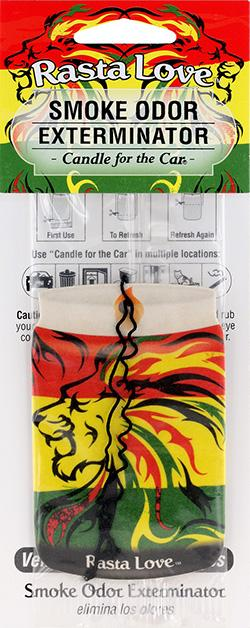 Rasta Love Car Candle