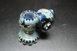 Rotational Science Glass Carved Planet Pipe