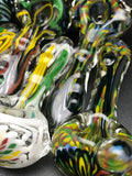 Rotational Science Glass Zig Zag Rasta Pipe