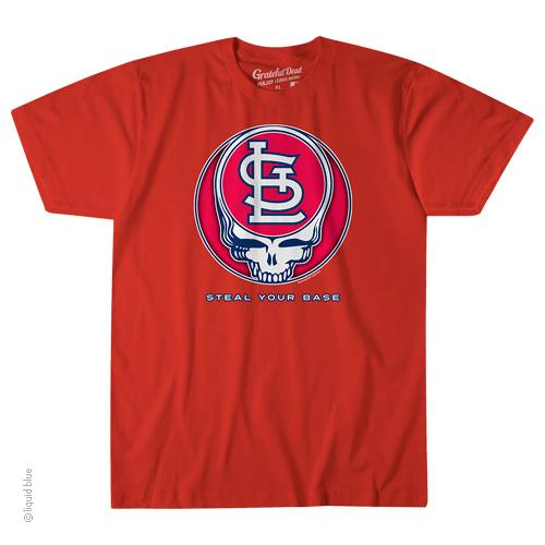 St. Louis Cardinals Steal Your Base T-Shirt