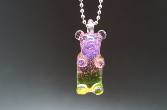 Sweet Shop Glass Gummy Bear Pendant