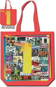 The Beatles 1 Reversible Red Tote Bag