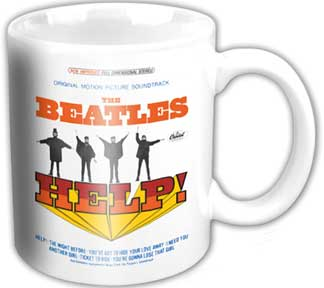 The Beatles Help! Coffee Cup