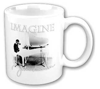 The Beatles Lennon Imagine Coffee Cup