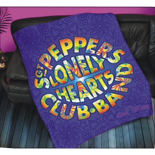 The Beatles Sgt Peppers Lonely Heart Club Band Fleece Blanket