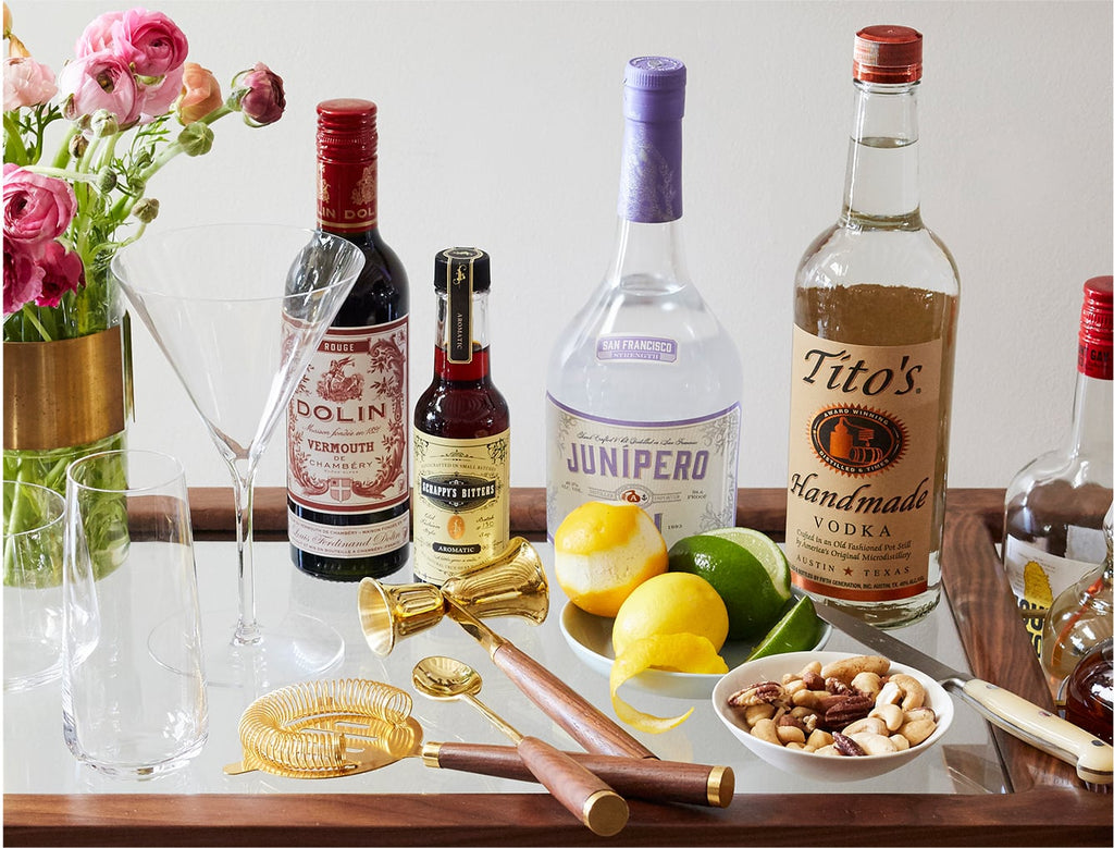 The Mix – Cocktail ingredients to always have on hand