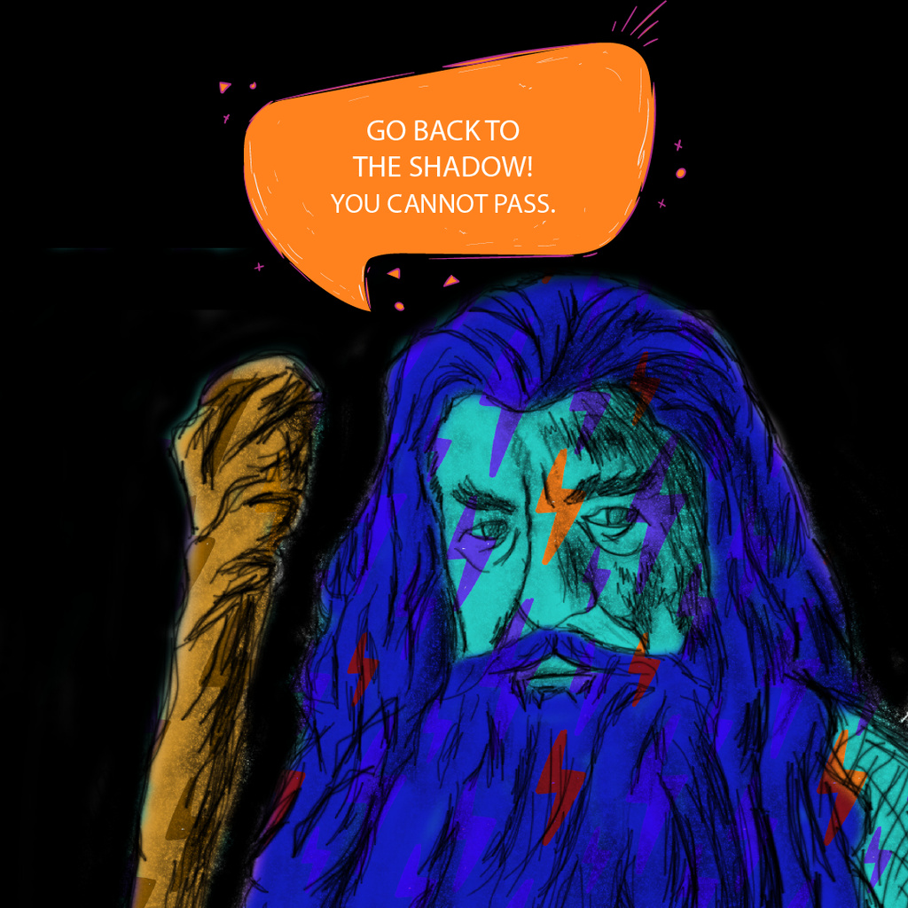 Book Club Discussions - If Gandalf Spit Rhymes...