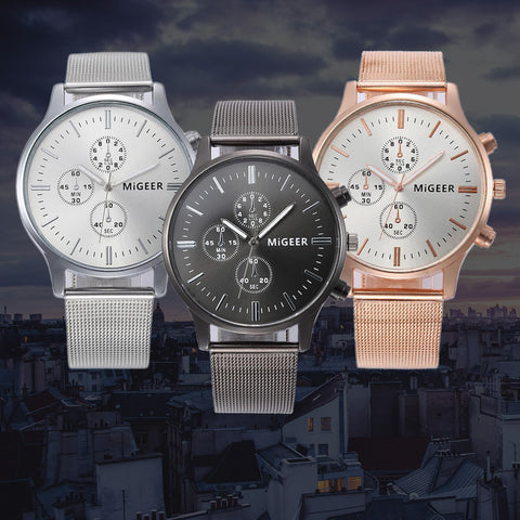 FREE Classic Steel Strap Quartz Watch Offer