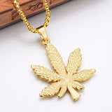 FREE 18K CANNABIS PENDANT + CHAIN BUNDLE
